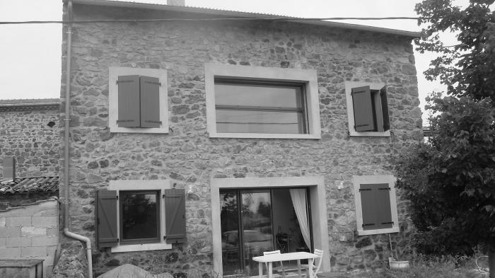 Rénovation et extension d'un ancien corps de ferme