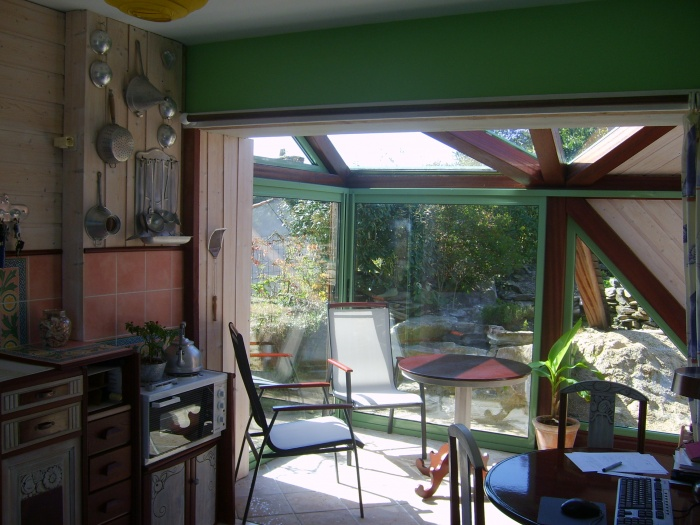 Extension d'une maison ( vérandas ) : Véranda ( intérieur )