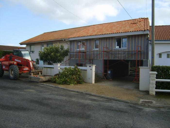 Surélévations et extensions de maisons : Avant