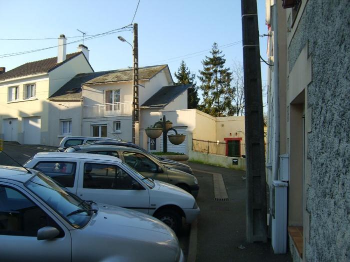 Surélévation d'une maison : Façade rue existant