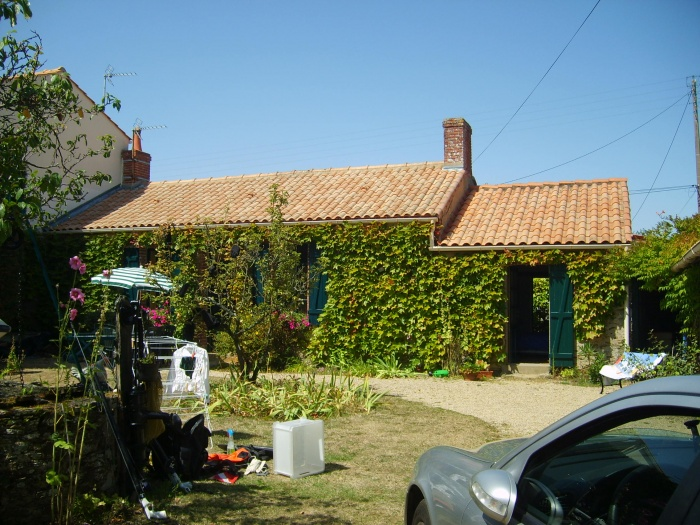 Surélévation d'une maison et construction d'un garage : Avant