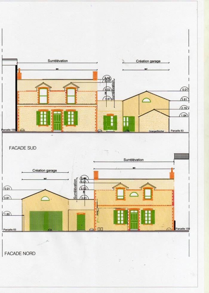 Surélévation d'une maison et construction d'un garage : image_projet_mini_21877