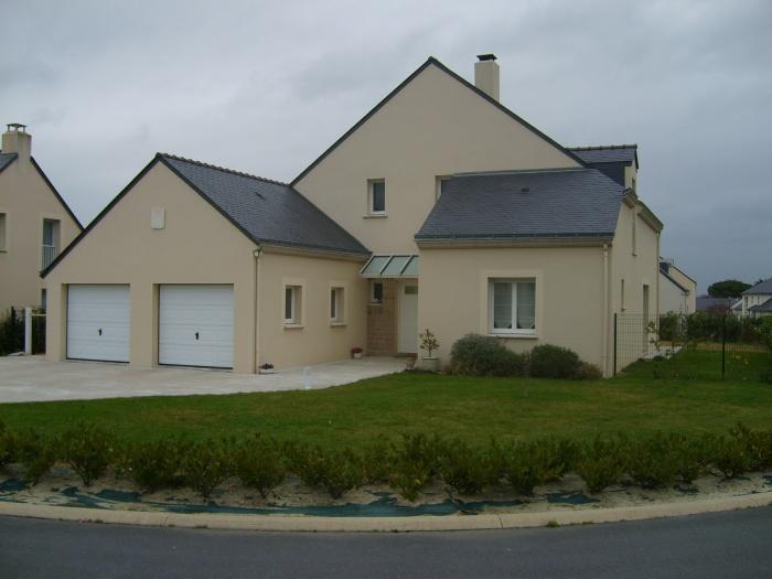 Construction d'une maison en lotissement