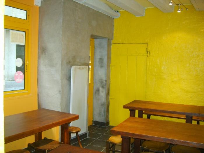 Traitement devanture et décoration intérieure : Traitement décoratif salle 1
