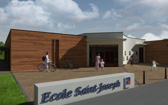 Ecole maternelle et primaire - Construction bois