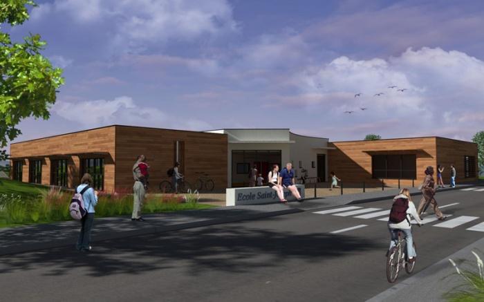 Ecole maternelle et primaire - Construction bois : image_projet_mini_24978