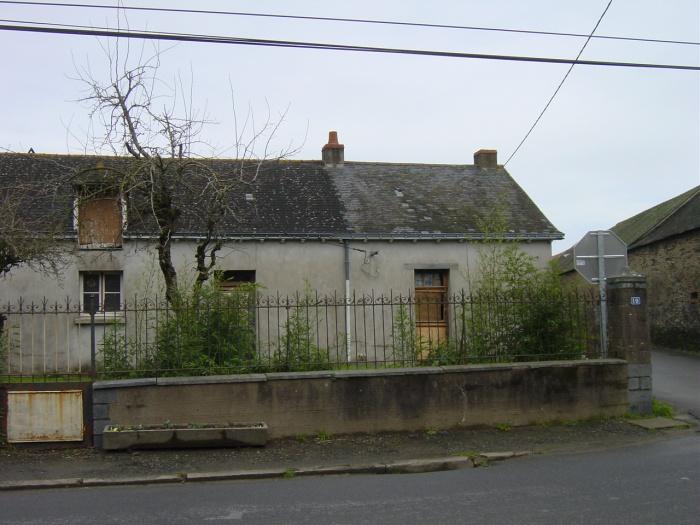 Réhabilitation d'une maison - BBC (44) : avant travaux