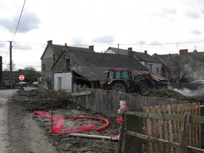 Réhabilitation d'une maison - BBC (44) : Démolition