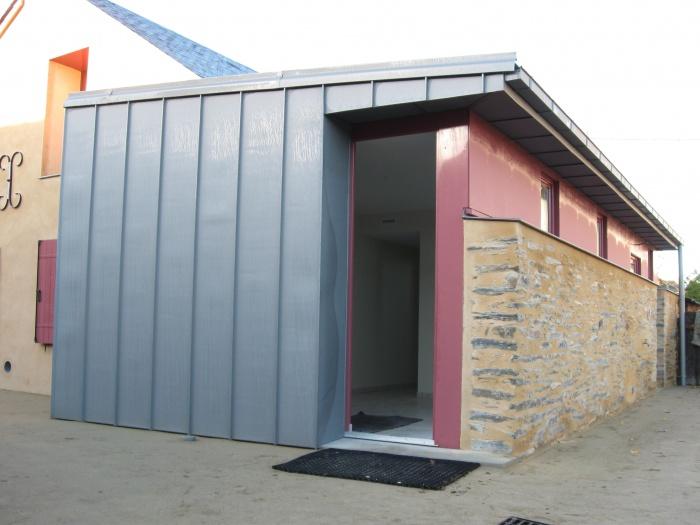 Réhabilitation d'une maison - BBC (44) : projet  003