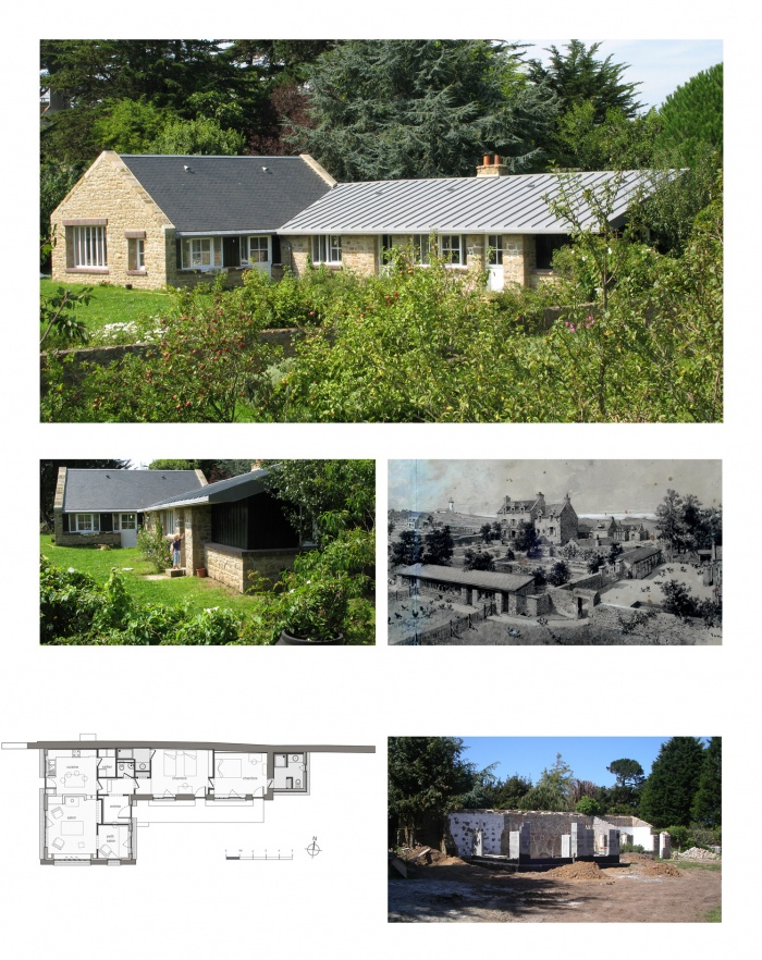 Réhabilitation et extension d'une maison de vacances
