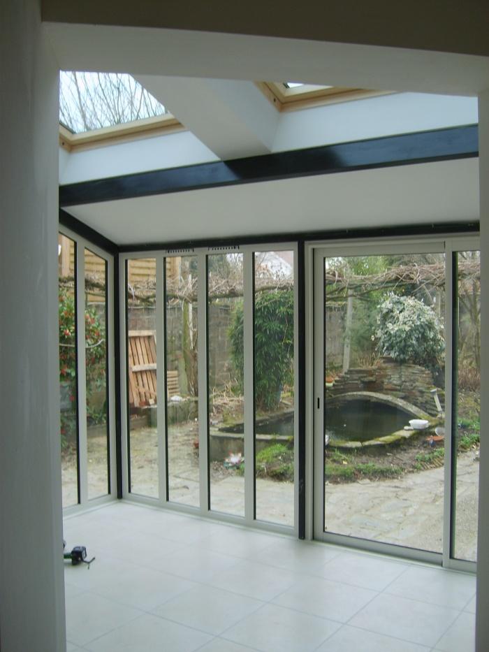Extension d'une maison : Vue intérieure projet d'extension