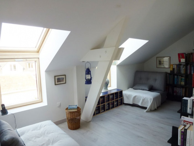 Surélévation P : Aménagement intérieur de l'étage