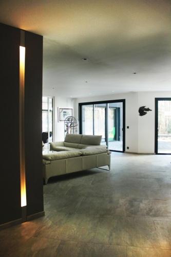 Maison C² : vue entrée