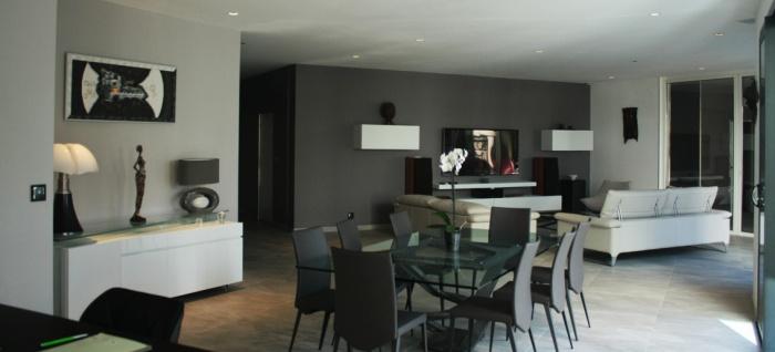 Maison C² : vue de la cuisine