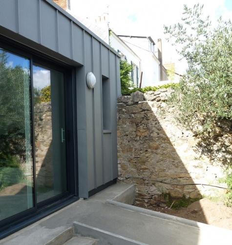 Extension B : façade extérieure