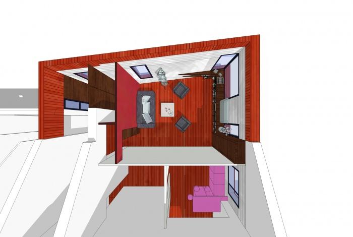 Extension transformation d'une maison (44) : 000