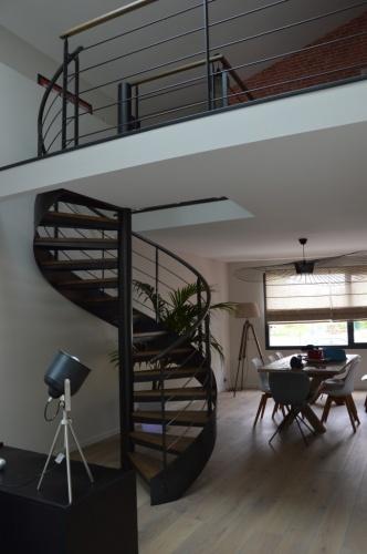 Transformation d'un ancien atelier en loft